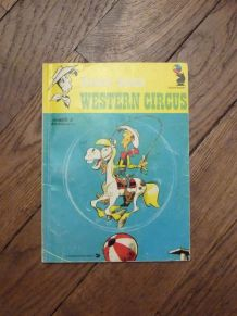Lucky Luke- Western Circus- René Goscinny- Hodder and Stough