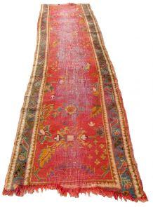 Tapis antique Turc  Oushak  fait main, 1Q0279