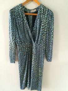 Robe vintage Emilio Pucci 38 col retravaillé d'où petit prix