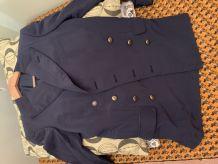 Blazer Saint Laurent soie et coton 38