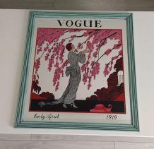 Miroir publicitaire vintage VOGUE