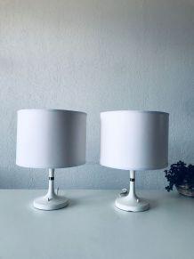 Paire de lampe vintage ERCO, années 60