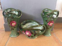 Vases et jardinière