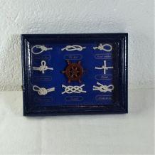Cadre décoratif Nœud Marin