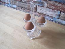 Présentoir a œufs  en verre épais