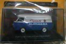 """Miniature Fiat 238 """"Gelati Alemagna"""" Nos chères camionnettes"""