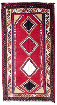 Tapis vintage Persan Ardabil fait main, 1Q0280