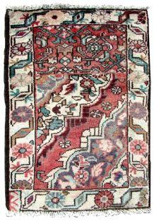 Tapis vintage Persan Hamadan Vagireh fait main, 1Q0285