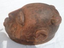 casque , masque africain