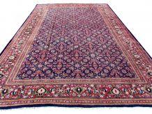 Tapis vintage Persan Mahal fait main, 1Q0287