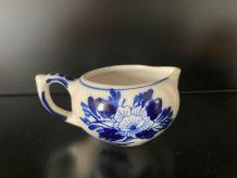 Petit pot à lait porcelaine française fin XIX ème
