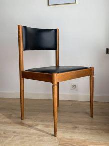 6 chaises  vintage années 70