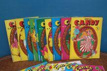 gros lot de magasine Candy editions teleguide année 70-80