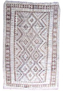 Tapis vintage Afghan fait main, 1Q0305