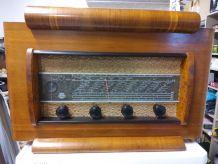 poste radio disque vintage années 60