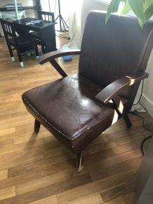 Paire de fauteuils 50´s