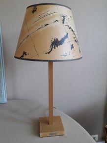 Lampe abat-jour planisphère