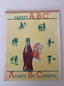 Bloc papier Coca Cola 1949 ! Collector