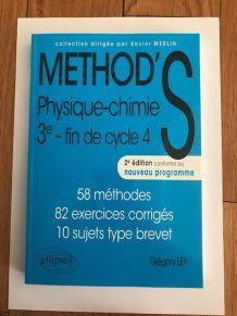 Livre Method's Physique Chimie 3ème