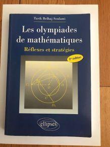 Livre Les Olympiades de Mathématiques - comme neuf