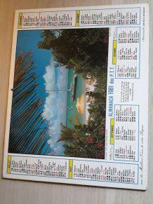 almanach des ptt 1981