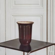Vase en céramique émaillée années 50