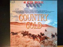 Coffret 4 CD Country