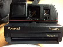 Polaroid Impulse Portrait, état neuf, avec sacoche