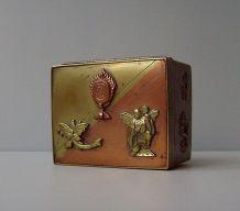 Ancienne Boite-Coffret Cuivre XIXe