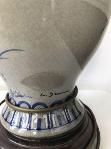 Lampe vintage signée DRIMMER