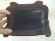 Pochette en tissu velours