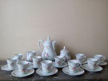 Service à café Porcelaine de LIMOGES