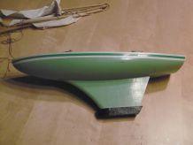 voilier de bassin en bois, sans marque