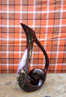 Vase en céramique émaillée Vallauris - Années 60/70