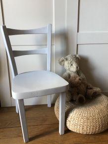 Chaise d'enfant, mobilier vintage