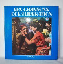 """Coffret de 10 vinyles 33 T """"Les chansons de la libération""""."""