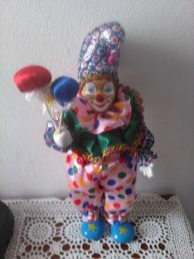 Clown Florentin musical et articulé