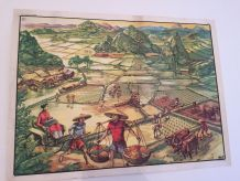 Ancienne affiche Oberthur