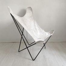 "Chaise ""BKF"" Butterfly Jorge Ferrari-Hardoy pour Knoll"