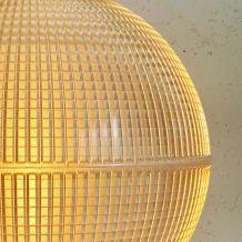 Lampe boule holophane XXL vintage années 60