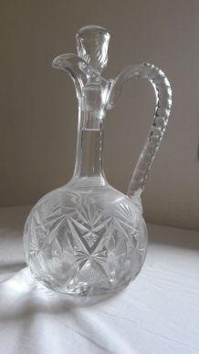 Ancienne Carafe à vin en cristal