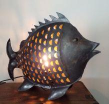 N° 75 Lampe poisson