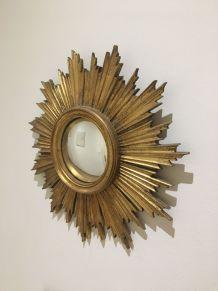 miroir soleil bombé résine