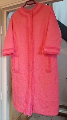 Robe de chambre rose 42-44