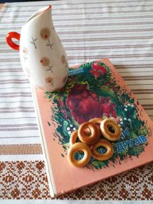 Cruche en porcelaine sovietique