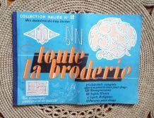 """""""Toute la broderie"""" Collection reliée n° 12 - 1962"""