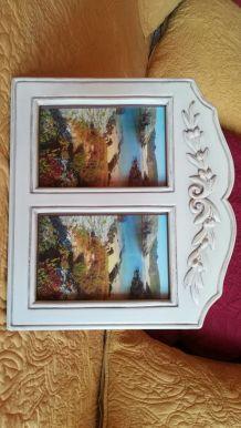 2 cadres photos pour format 10x15  ,très bon état        tat