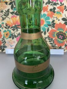 Vase en vert annee 70