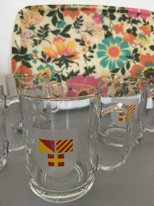 6 mugs lotus