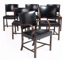 Fritz Hansen : Ensemble de 4 chaises